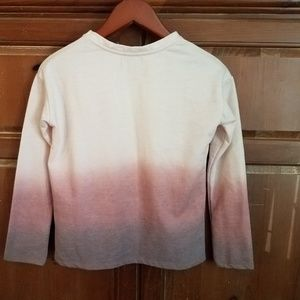 Zara Tops - Zara Pink Ombre studded pullover top.